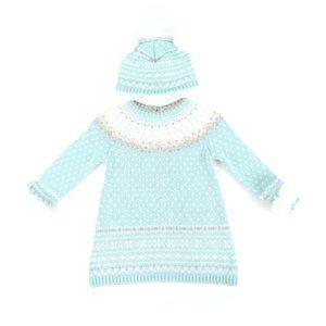 ASPEN KIDS dress and hat, girl's size 24M
